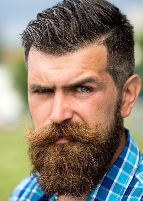 handlebar-mustache-10 40 Best Handlebar Mustache Styles to Look Sharp