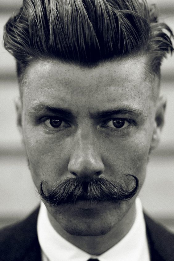 handlebar-mustache-3 40 Best Handlebar Mustache Styles to Look Sharp [2019]