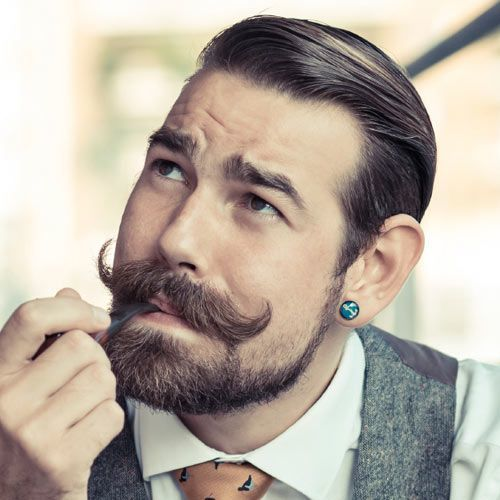 handlebar-mustache-8 40 Best Handlebar Mustache Styles to Look Sharp