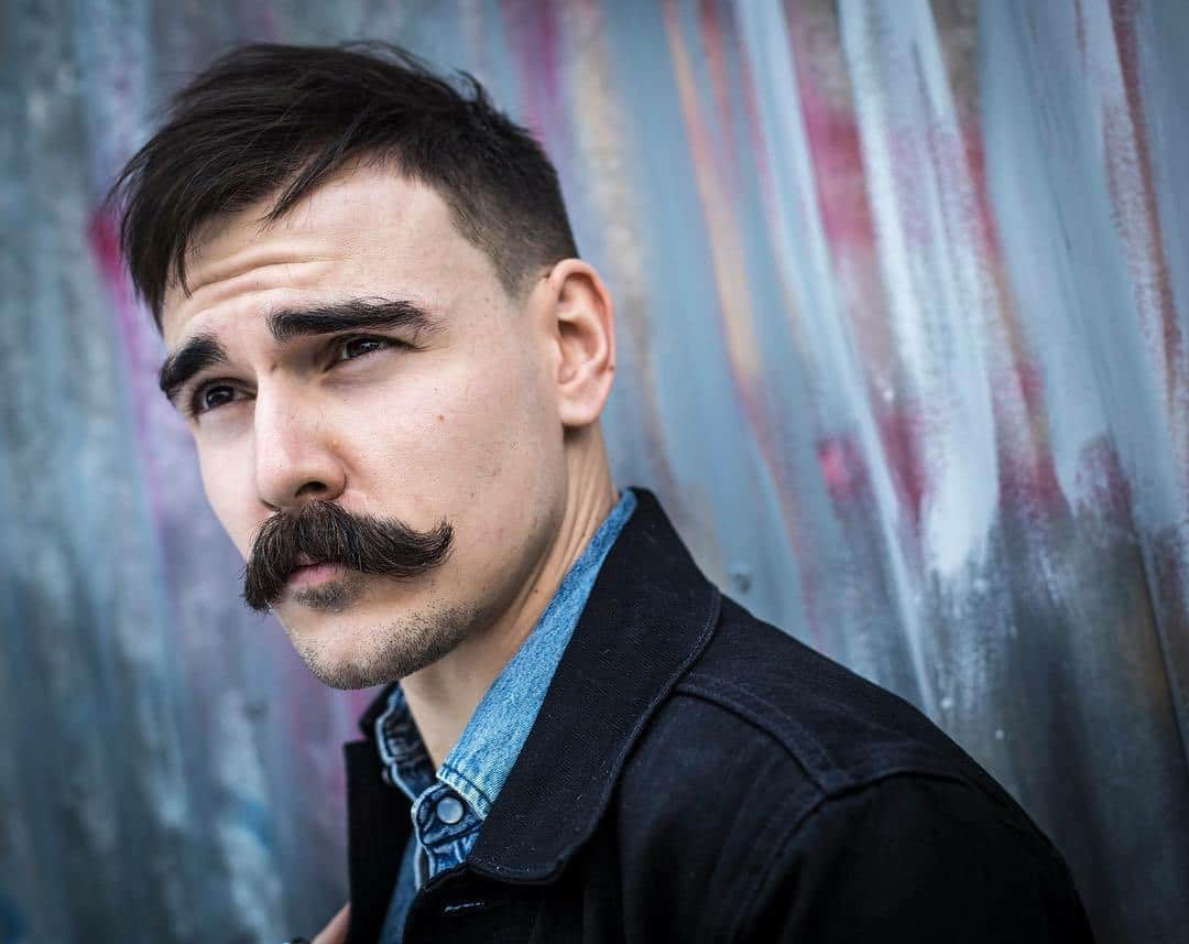 1-2 70 Hottest Mustache Styles for Guys Right Now [2019]
