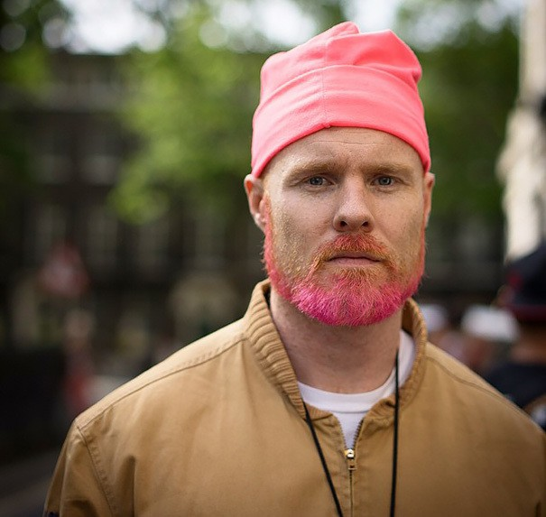 Colorful-Beards-3 10 Colorful Beards That'll Turn Some Heads