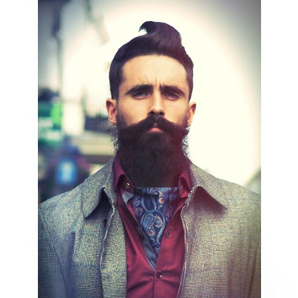Design-Ideas-for-to-Try-With-Your-Beard-12 22 Epic Beard Design Hacks to Create Buzz [2017]