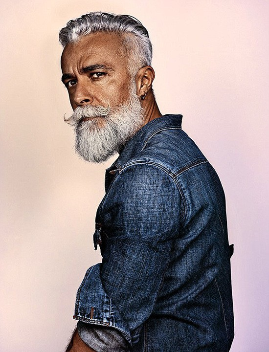white-beard-Styles-1 6 Cool White Beards That'll Make You Look Handsome