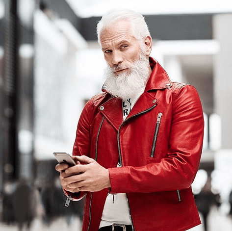white-beard-Styles-2 6 Cool White Beards That'll Make You Look Handsome