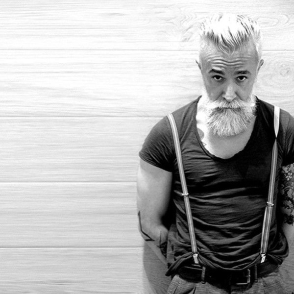 white-beard-Styles-6 6 Cool White Beards That'll Make You Look Handsome
