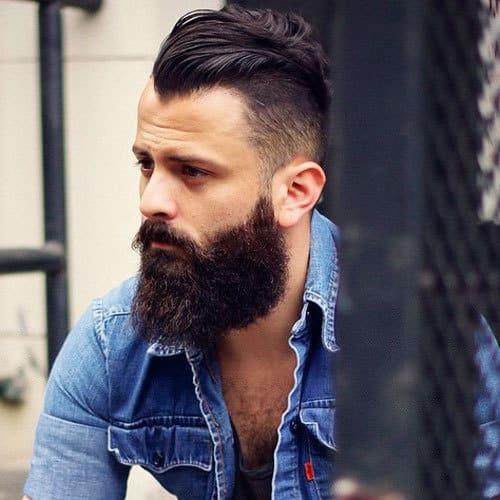 Long-Beard-Cool-Mens-Hairstyle 70 Sexy Long Beard Styles for Men