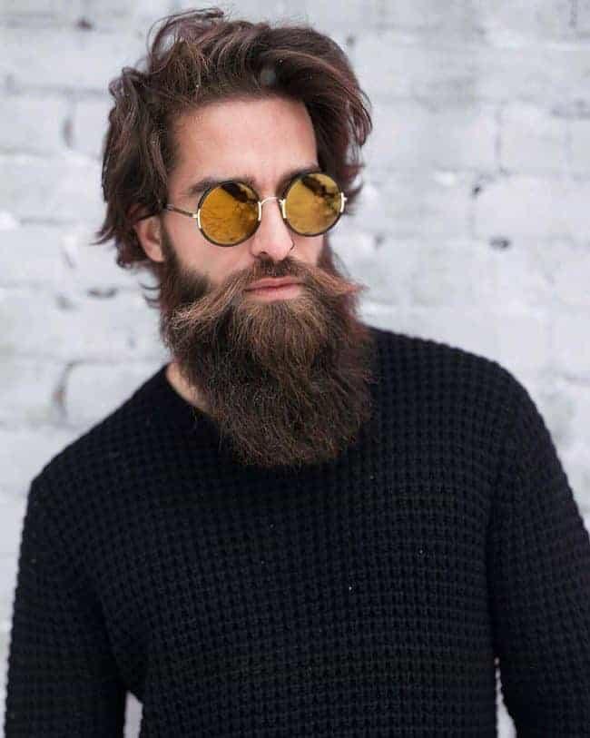 Long-Beard-Style 70 Sexy Long Beard Styles for Men