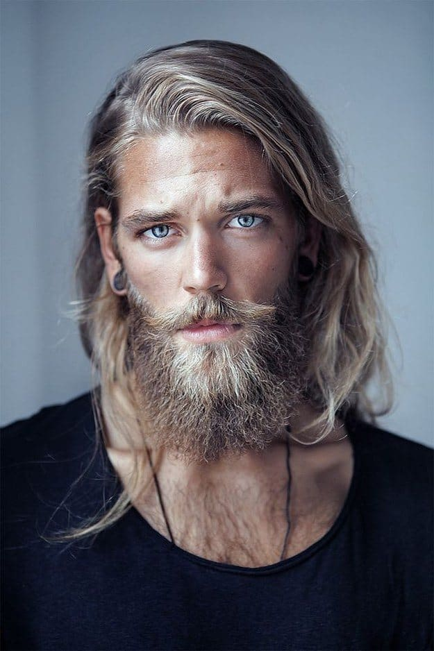 beautiful-men-with-beautiful-hair 115 Unbeatable Long Beard Styles for Every Man