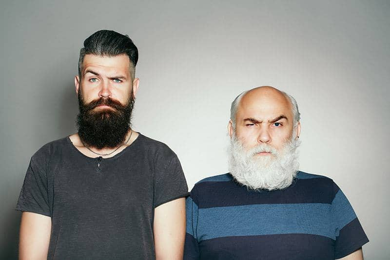 long-beard-styles-for-two-generation-men_2 70 Sexy Long Beard Styles for Men