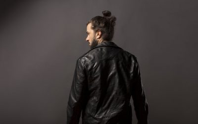 bun with beard style for men