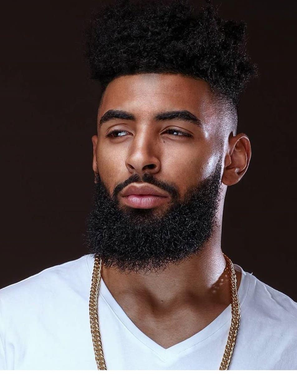 1-1 70 Trendiest Beard Styles for Black Men [2018 Updated]
