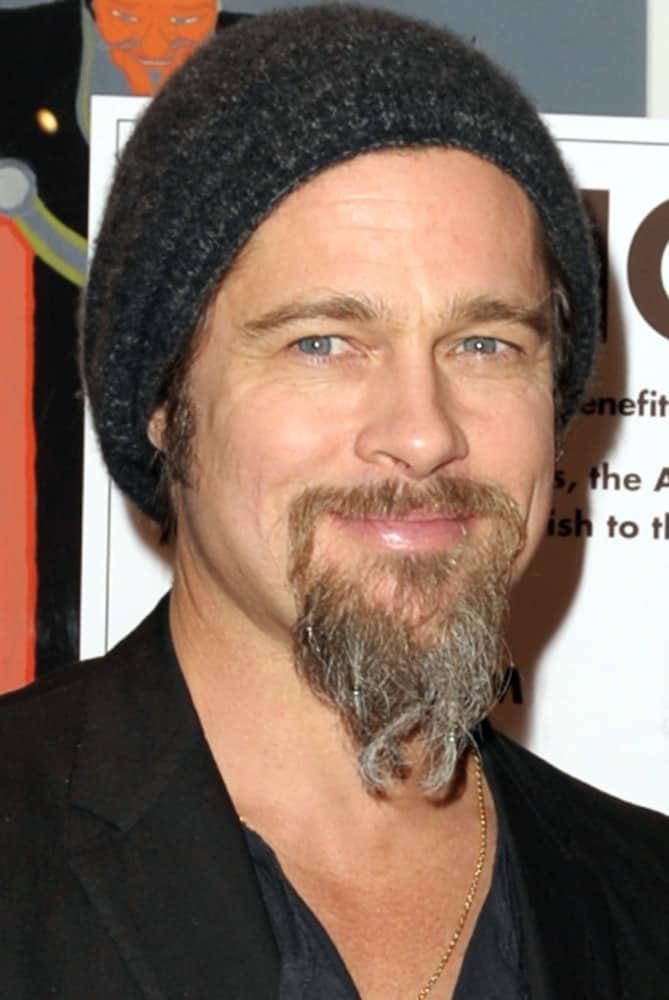 1_bradpitt_getty 60 Prevailing Goatee Beard Styles for Men