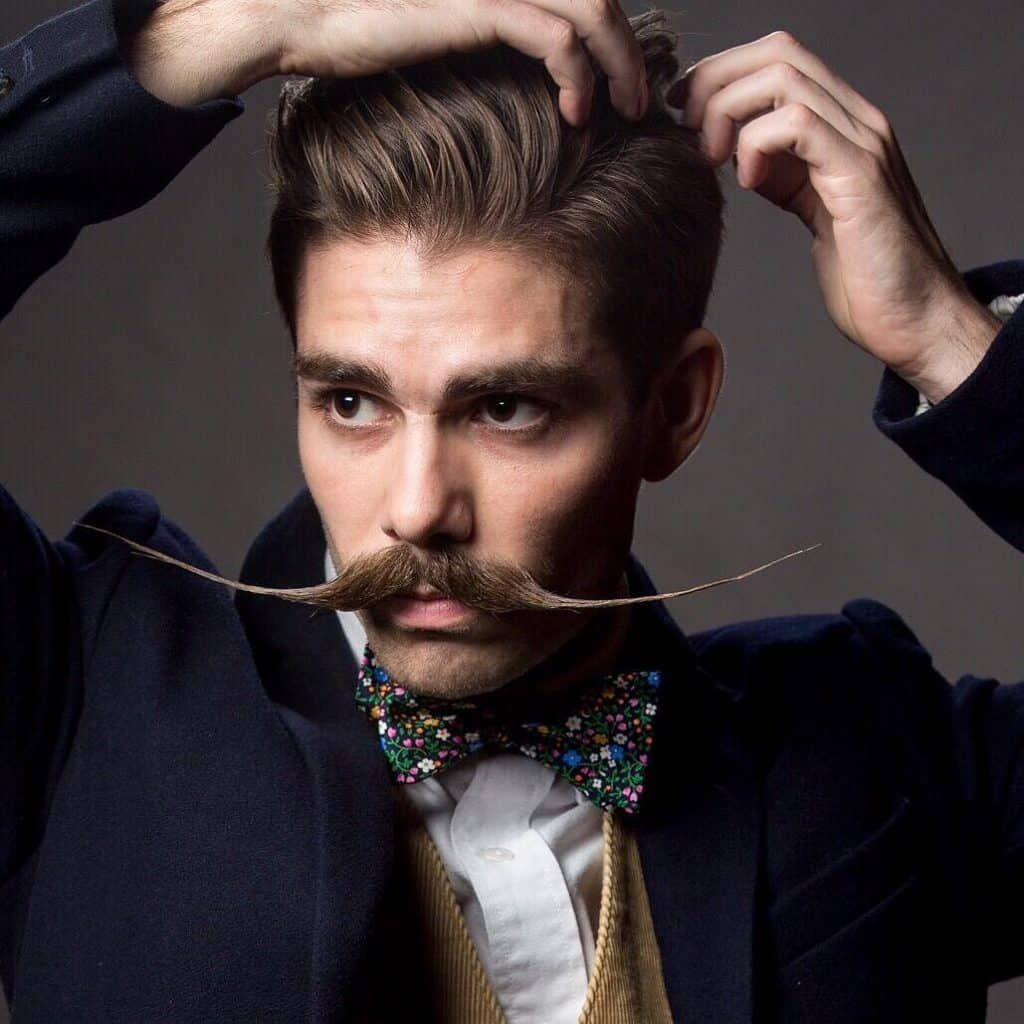 8-The-English-1024x1024 70 Hottest Mustache Styles for Guys Right Now