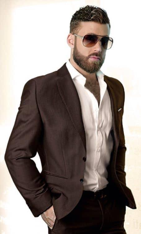 9c0e04c9ddb51069566860cf93b0c892 70 Coolest Short Beard Styles for Men