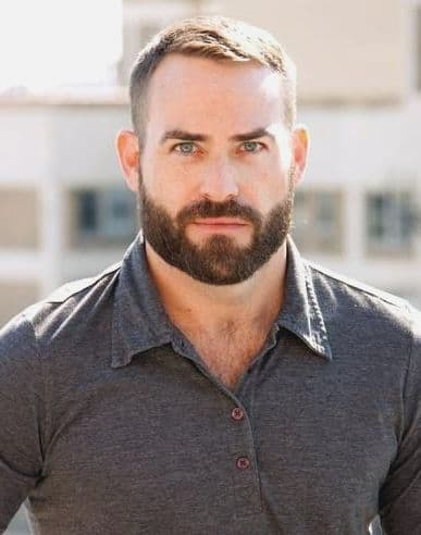 Short-Hairstyles-With-Beard-easy-hairstyling-mVCA 70 Coolest Short Beard Styles for Men