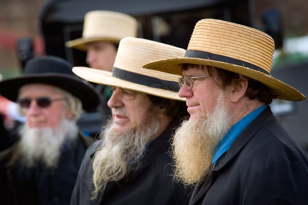 amish-mud-sale 70 Stunning Beard Styles Without Mustache [Top Picks]
