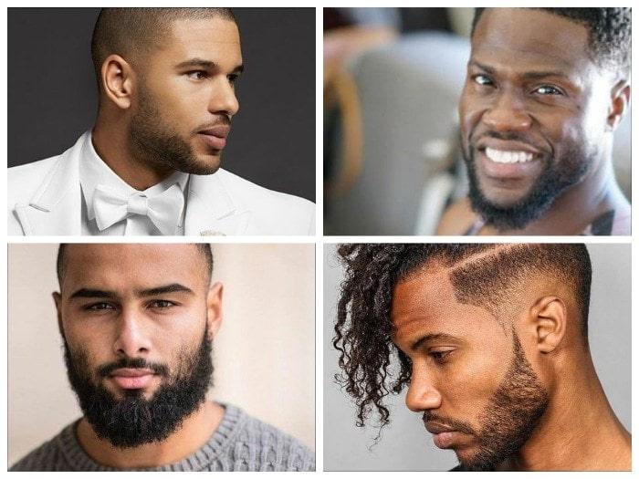 black-men-facial-hairstyle 50 Trendiest Beard Styles for Black Men [2018 Updated]