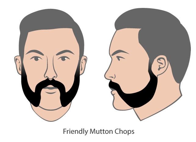 friendly-mutton-chop 40 Kick-Ass Mutton Chop Sideburns for The Boldest Look