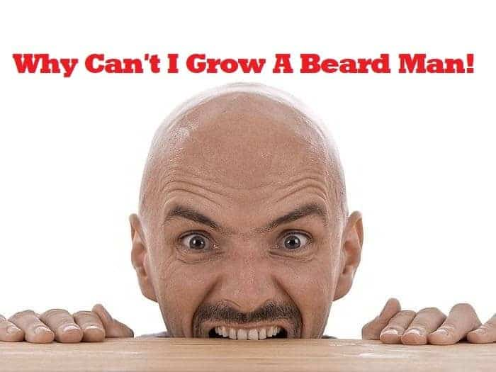 These Are 5 Reasons You Can't Grow A Beard