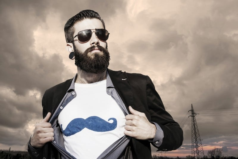 hipster-beard-with-short-hair 70 Hottest Hipster Beard Styles Ever [2019]