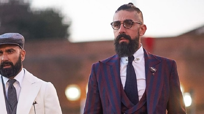 man-bun-and-beard-2 20 Best Bun Hairstyles to Wear With Your Beard