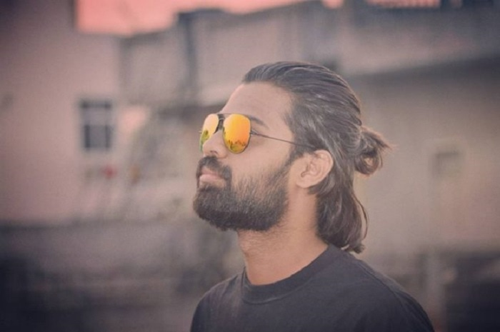 man-bun-and-beard-5 20 Best Bun Hairstyles to Wear With Your Beard