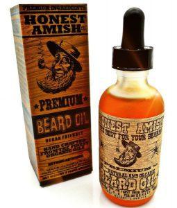 honest amish premium beard oil