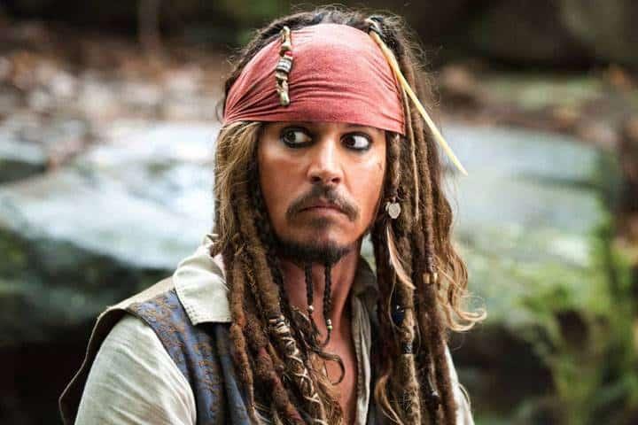 Captain jack Sparrow Beard
