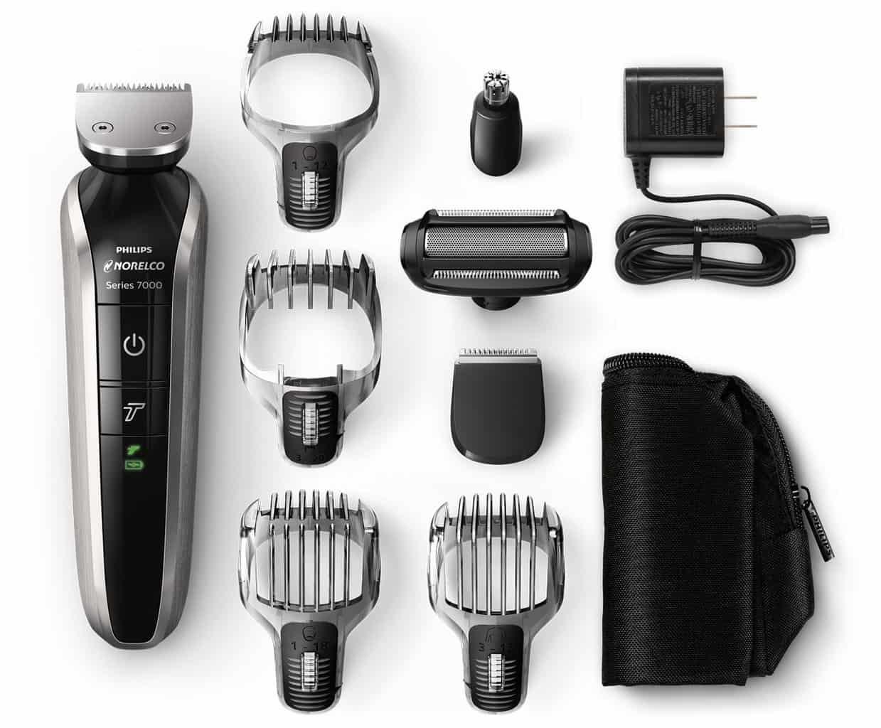 Norelco-Multigroom-7000 Best Beard Trimmers by 7 Top Brands: Editor's Top 3 Picks