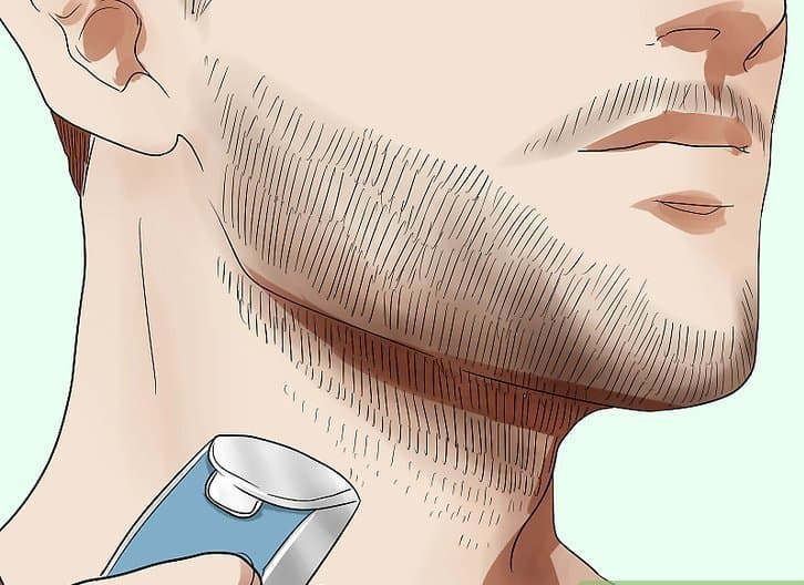 aid1423161-v4-728px-Maintain-Stubble-Step-9-Version-2 Beard Neckline: How to Trim Perfectly