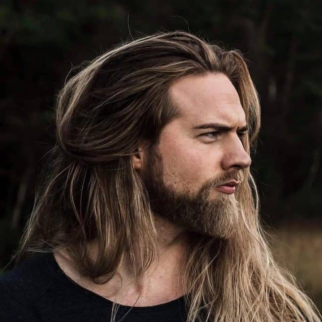 Super 20 Best Beard Styles For Guys With Long Hair Beardstyle Natural Hairstyles Runnerswayorg