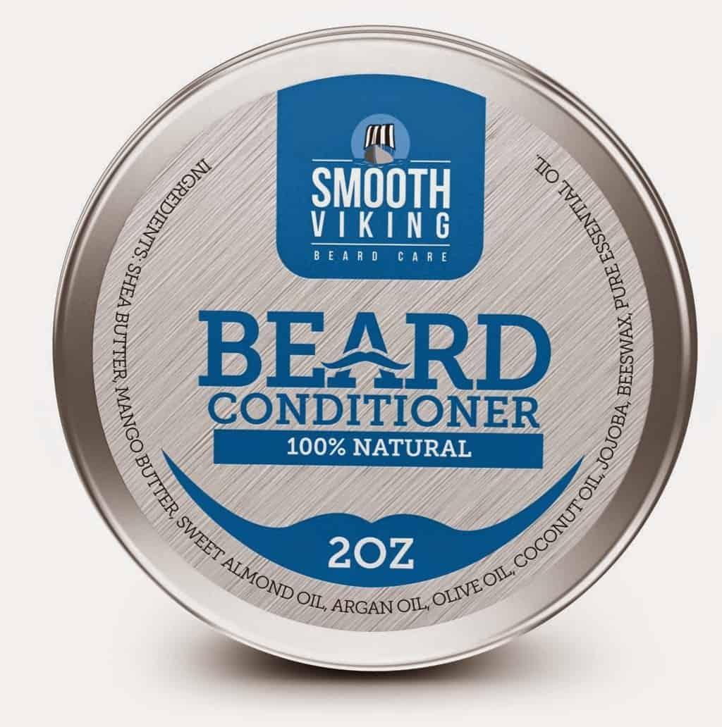 Smooth Viking Beard Care Beard Balm With Shea Butter & Argan Oil