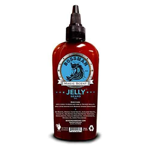 BOSSMAN-JELLY-BEARD-OIL 7 Best Beard Oils to Buy in 2019: Review & User's Guide