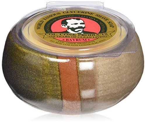 Col.-Conk-Worlds-Famous-Shaving-Soap-Bay-Rum 8 Best Shaving Soaps Get Reviewed: Insider's Opinion