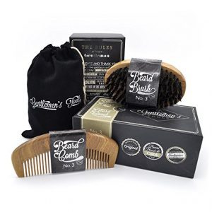 Gentlemans-Tools-Beard-Comb-Brush-Set-300x300 Top 3 Beard Brush Kits in 2019: User's Review & Ratings