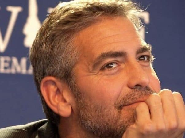 George-Clooney 5 O'Clock Shadow Beard: How to Get It + Top 7 Styles