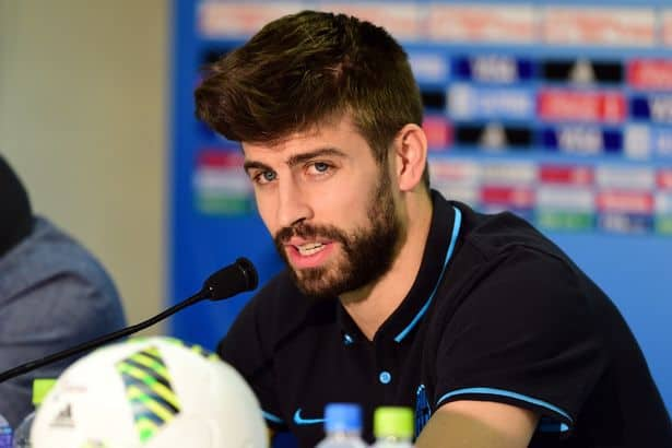 Gerard-Pique Top 10 Beard Styles Ever Donned by Sportsmen