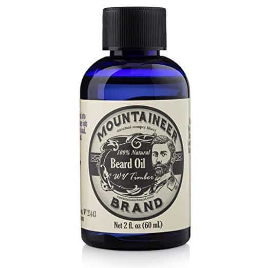 Mountaineer-Brand-WV-Timber-Scented-with-Cedarwood-and-Fir-Needle-Conditioning-Oil- 7 Best Beard Oils to Buy in 2020: Review & User's Guide