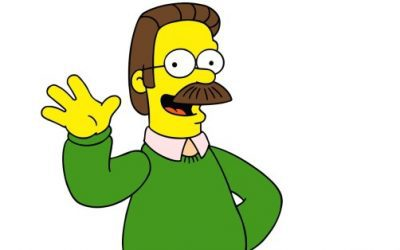 cartoon characters with mustaches