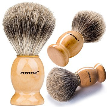 Perfecto-Pure-Badger-Shaving-Brush Top 12 Shaving Brushes: Buying Guide and Review