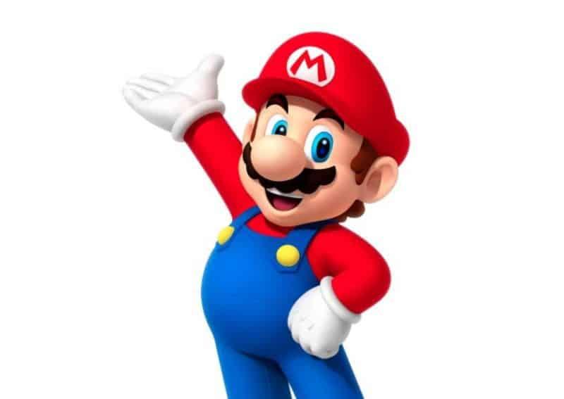 Super Mario Bros with mustache