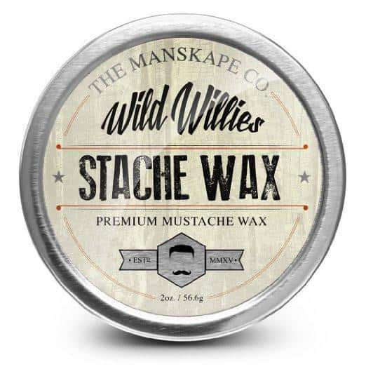 3. Wild Willie's All Natural Mustache and Beard Grooming Wax