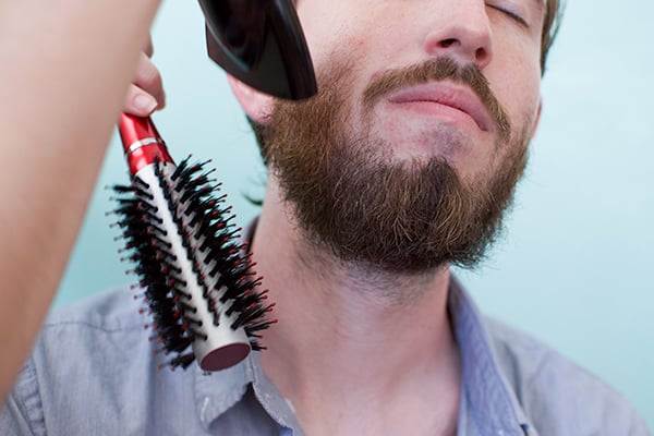 TLS-Beard-Blowout-dry 5 Reasons Not to Blow Dry Your Beard