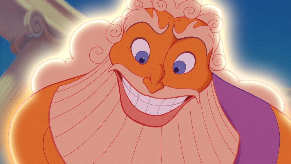 Zeus-Close-Up-from-Hercules 10 Most Popular Cartoon Characters with Playful Beards