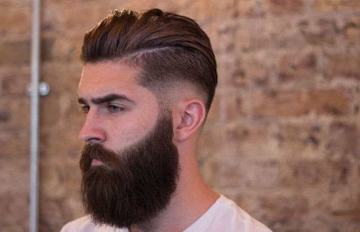 beard-fade-into-hair-sideburns How to Fade Your Beard The Right Way (15 Examples)