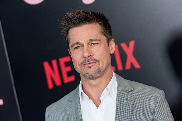 brad-pitt Top 60 Celebrities With A Beard