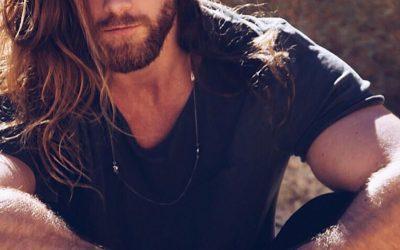 beard style for long hair