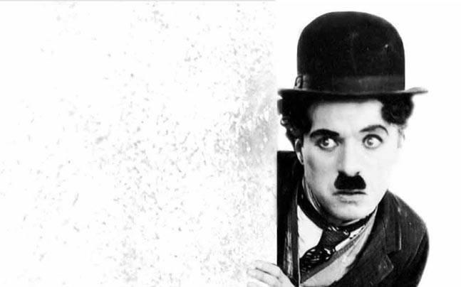 Charlie Chaplin funny mustache
