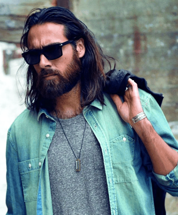 image004 20 Best Beard Styles for Guys with Long Hair