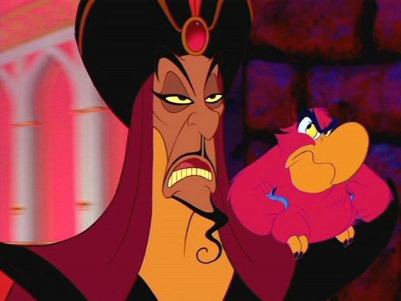 jafar 10 Most Popular Cartoon Characters with Playful Beards